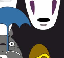 Ghibli mix Sticker