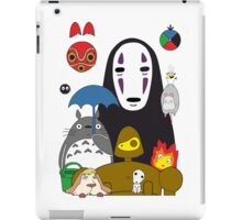 Ghibli mix iPad Case/Skin