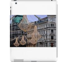 Christmas illumination Wien (Vienna) - Austria iPad Case/Skin