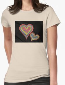 Conceptual image of love Womens Fitted T-Shirt