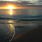 Maslin Beach Sunset, South Australia 2005 by muz2142