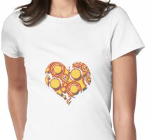 I - Heart - You Womens Fitted T-Shirt
