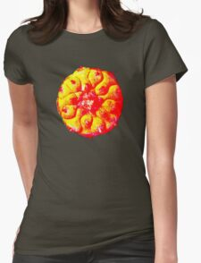 Higher psychedelic solar peyote t-shirt Womens Fitted T-Shirt