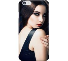 dark beauty iPhone Case/Skin