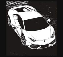 7 Lamborghini Huracan By Chris McCabe - DRAGAN GRAFIX One Piece - Short Sleeve