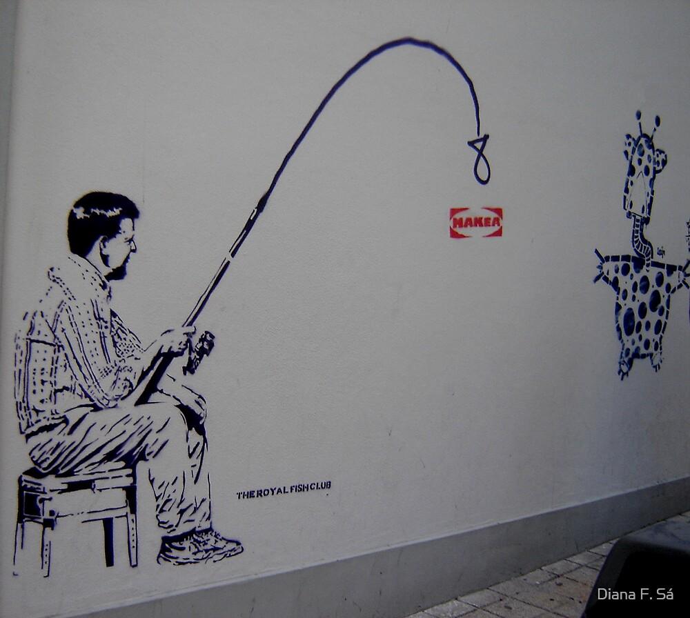 Oporto Wall by Diana F. Sá