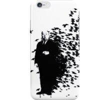 Hitchcock Birds Graffiti  iPhone Case/Skin
