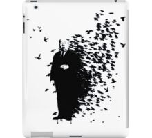 Hitchcock Birds Graffiti  iPad Case/Skin