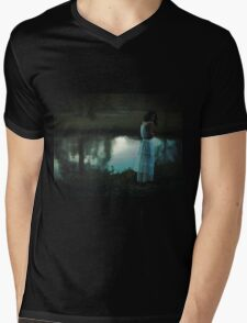 cold weather Mens V-Neck T-Shirt