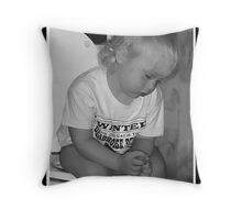 Potty Dreamer Throw Pillow
