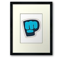 Bro Fist! Framed Print