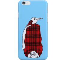 Tartan Penguin iPhone Case/Skin