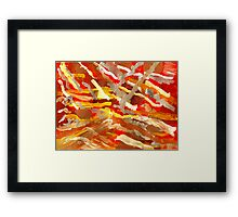 Fingerpainting Abstract Five Framed Print