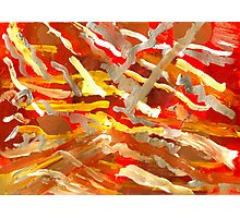 Fingerpainting Abstract Five Photographic Print