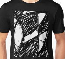 3 Freaky Airplane Windows By Chris McCabe - DRAGAN GRAFIX Unisex T-Shirt