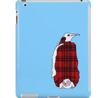 Tartan Penguin iPad Case/Skin