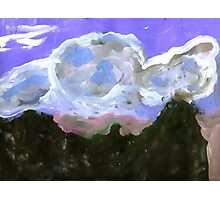 Hills and Clouds Photographic Print