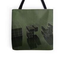 Cubic Progression Tote Bag