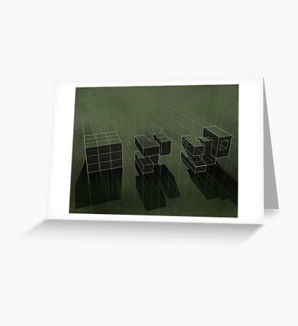 Cubic Progression Greeting Card