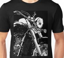 2 Kawasaki VN900 Motorcycle By Chris McCabe - DRAGAN GRAFIX Unisex T-Shirt