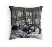 Take a ride Throw Pillow