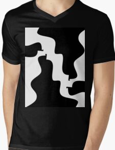 1 Frustrated Puzzle By Chris McCabe - DRAGAN GRAFIX Mens V-Neck T-Shirt