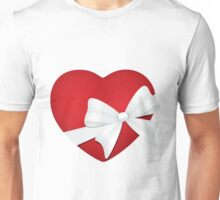 Valentine Red Heart  Unisex T-Shirt
