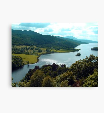 Queen's View Canvas Print