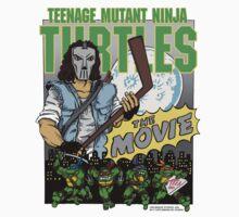 Ninja Turtles Retro First Movie 1990 Casey Jones Kids Clothes