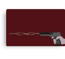 Beautiful Gun Canvas Print