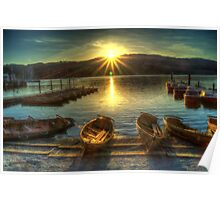 Windermere Sunset Poster