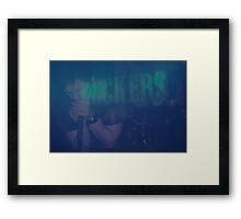Rockers! Framed Print