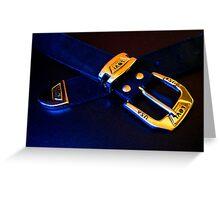 Le Belt Greeting Card