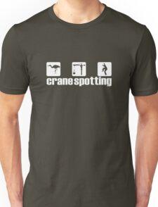 Crane Spotting (Trainspotting Spoof) Unisex T-Shirt