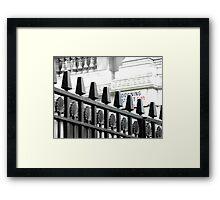 Downing Street... Framed Print
