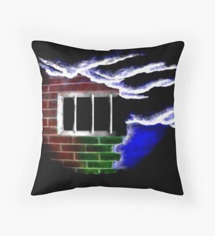 Cell Throw Pillow