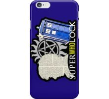 SuperWhoLock - Crossover MegaVerse iPhone Case/Skin
