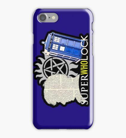 SuperWhoLock - Crossover MegaVerse iPhone Case/Skin
