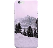Evening glow at Bow Lake, Alberta, Canada iPhone Case/Skin