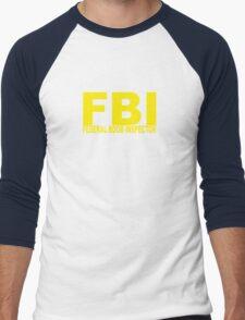 FBI - Federal Boob Inspector Men's Baseball ¾ T-Shirt