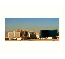 Leaving Las Vegas Art Print