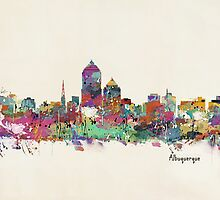 Albuquerque New Mexico skyline by bri-b