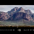 Superstition Mountains by LOUOATES