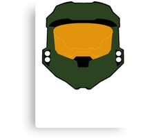 Master chief minimalist Canvas Print