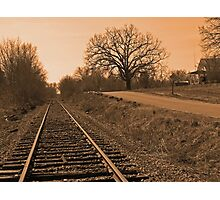 small town u.s.a. Photographic Print