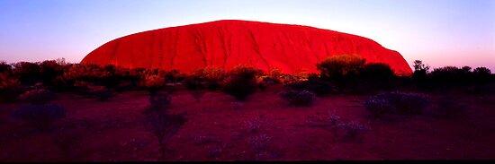 Uluru by SamBurns