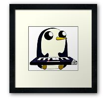 Gunter Keyboard Framed Print