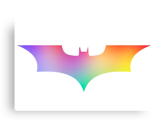 BAT MAN multicolor pop art -  Superhero / Comic Canvas Print