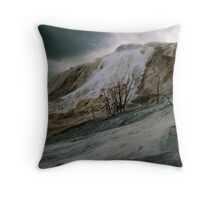 Somewhere Else Near The Edge Of The World Throw Pillow