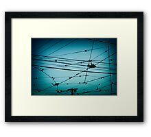 Overhead Framed Print